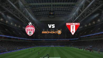 Photo of Live Streaming  Sepsi Sfantu Gheorghe vs UTA Arad 19 September 2021